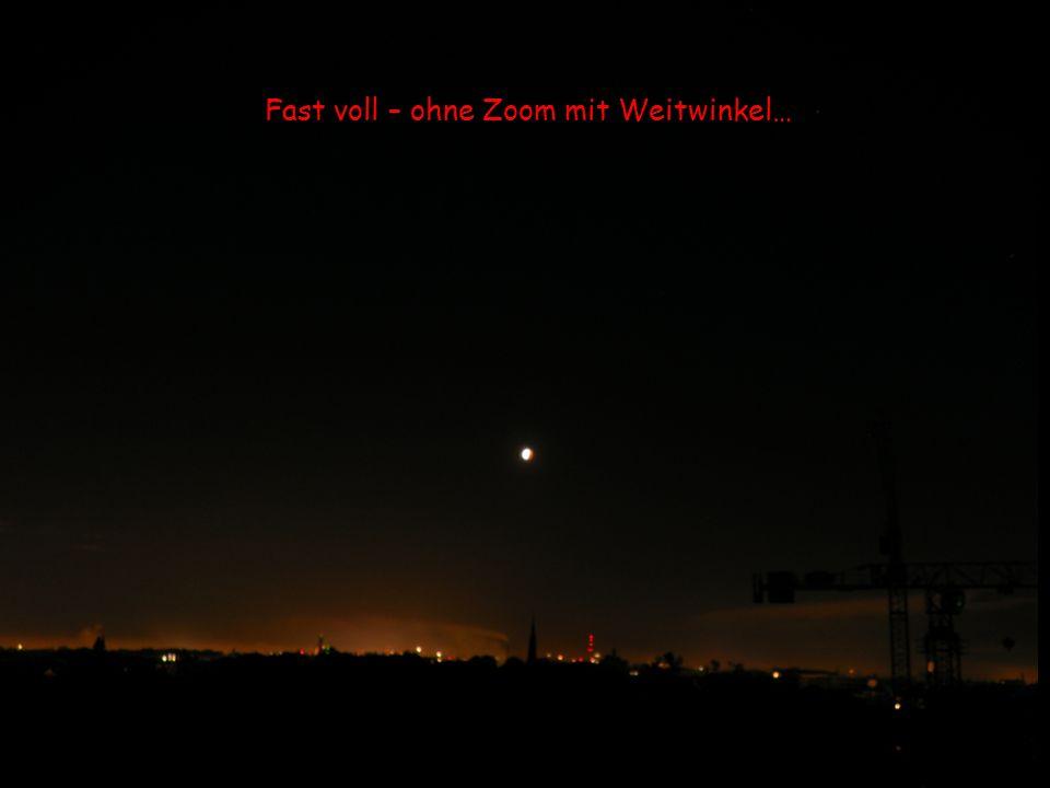 """5.52 Uhr: Mir ist kalt, der Mond bald wieder """"voll …."""