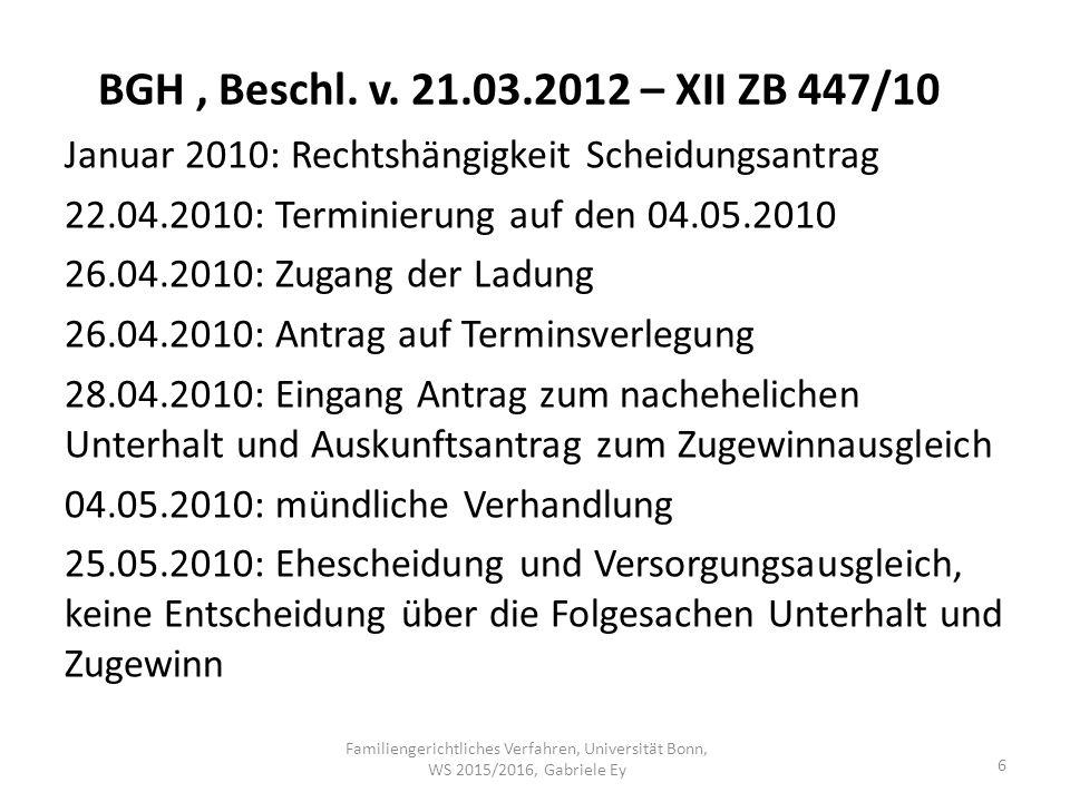 BGH, Beschl. v.