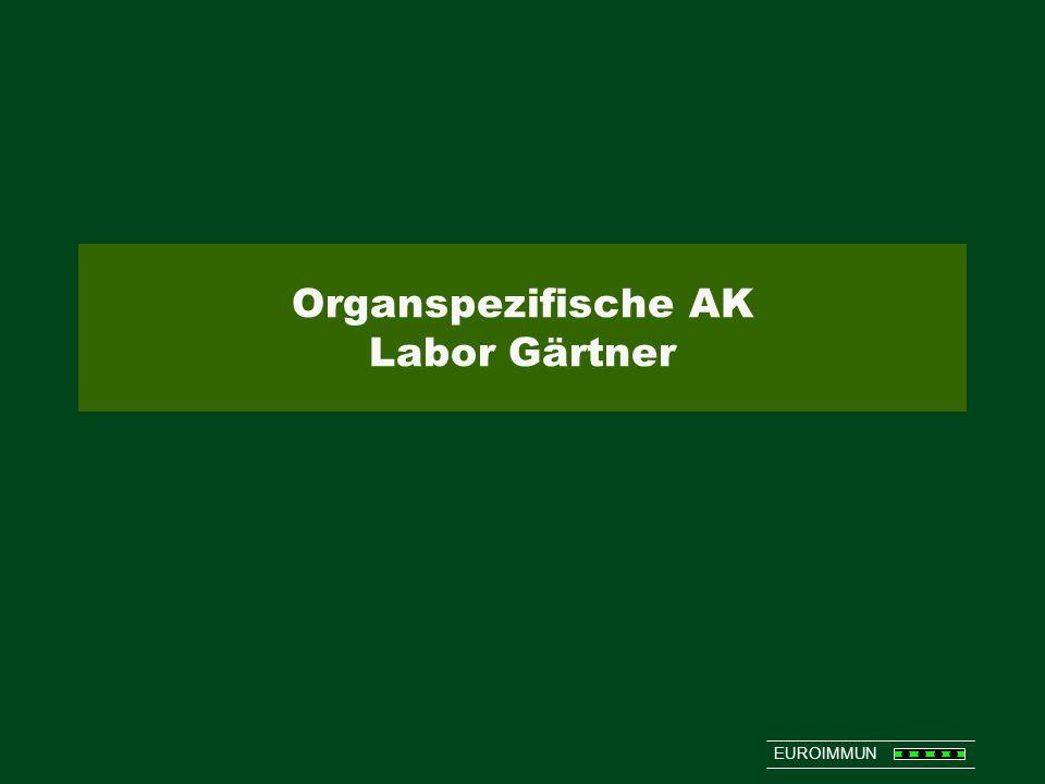 EUROIMMUN Organspezifische AK Labor Gärtner
