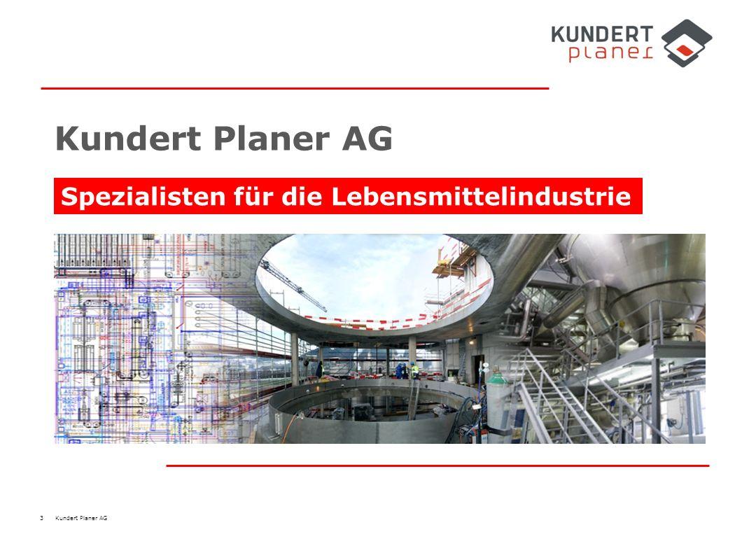 3 Kundert Planer AG Spezialisten für die Lebensmittelindustrie Kundert Planer AG