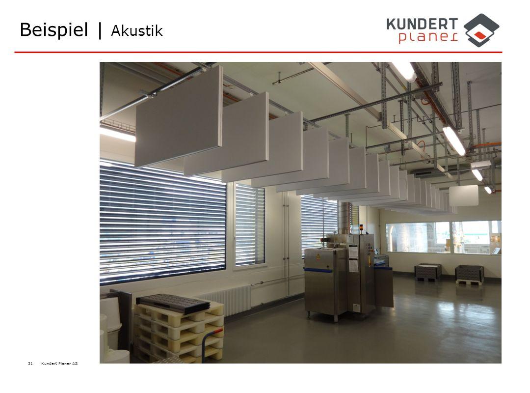 31 Kundert Planer AG Beispiel | Akustik