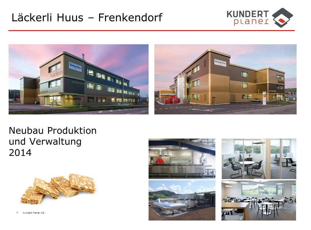 7 Kundert Planer AG Läckerli Huus – Frenkendorf Neubau Produktion und Verwaltung 2014