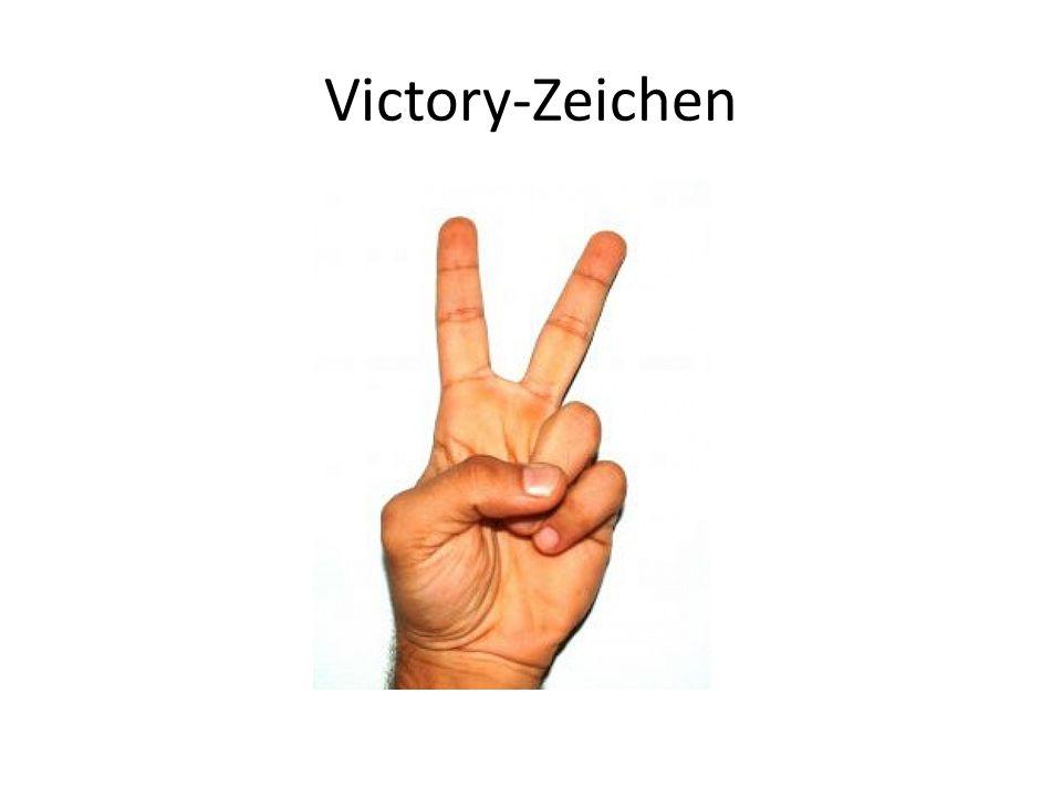 Victory-Zeichen