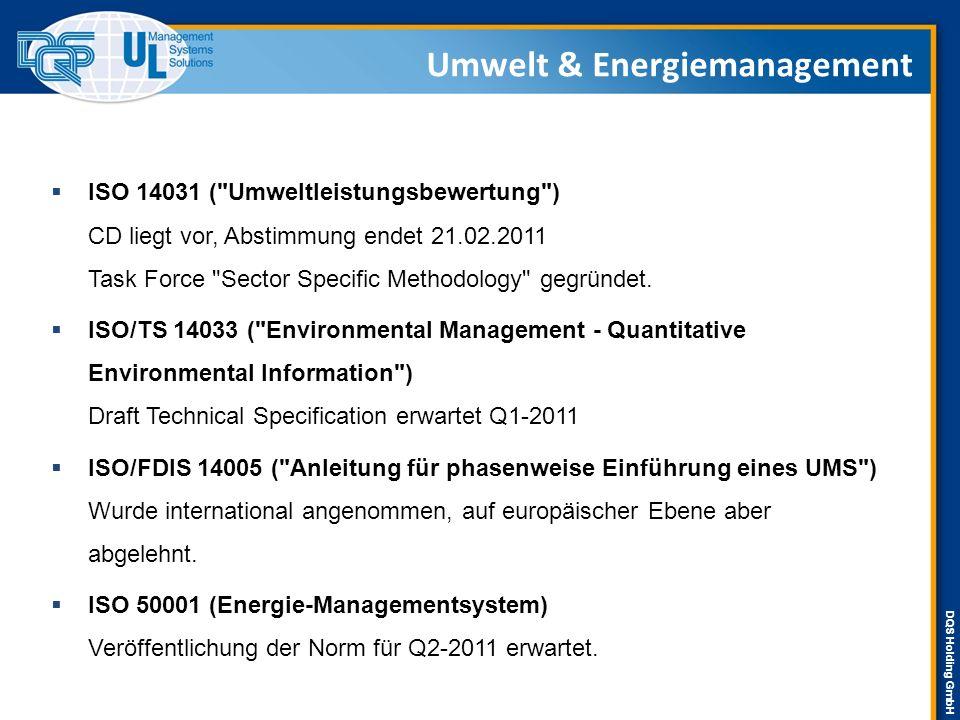 DQS Holding GmbH  ISO 14031 (