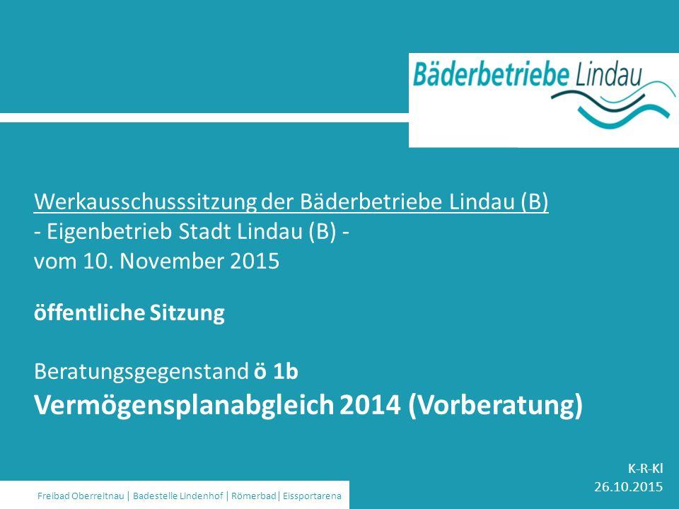 Strom | Wasser | Gas | Wärme | Bäder | Kommunikation | Stadtbus Werkausschusssitzung der Bäderbetriebe Lindau (B) - Eigenbetrieb Stadt Lindau (B) - vom 10.