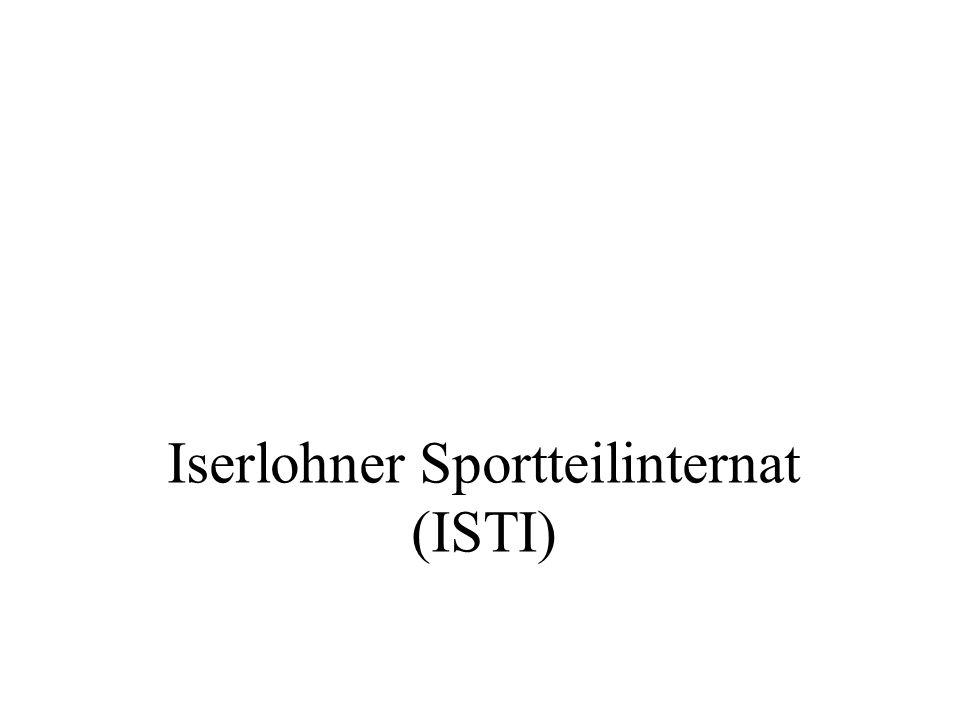Iserlohner Sportteilinternat (ISTI)