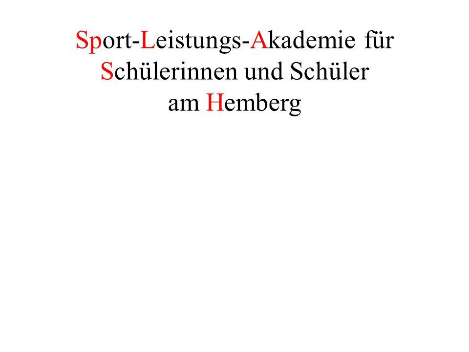 Sport-Leistungs-Akademie für Schülerinnen und Schüler am Hemberg