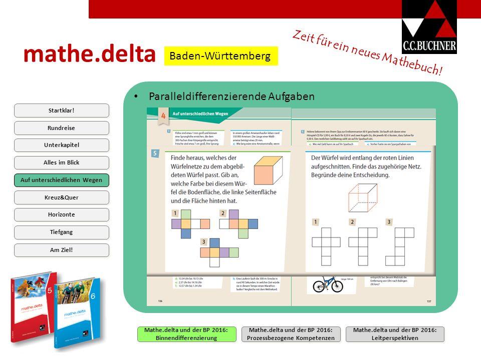 mathe.delta Zeit für ein neues Mathebuch.