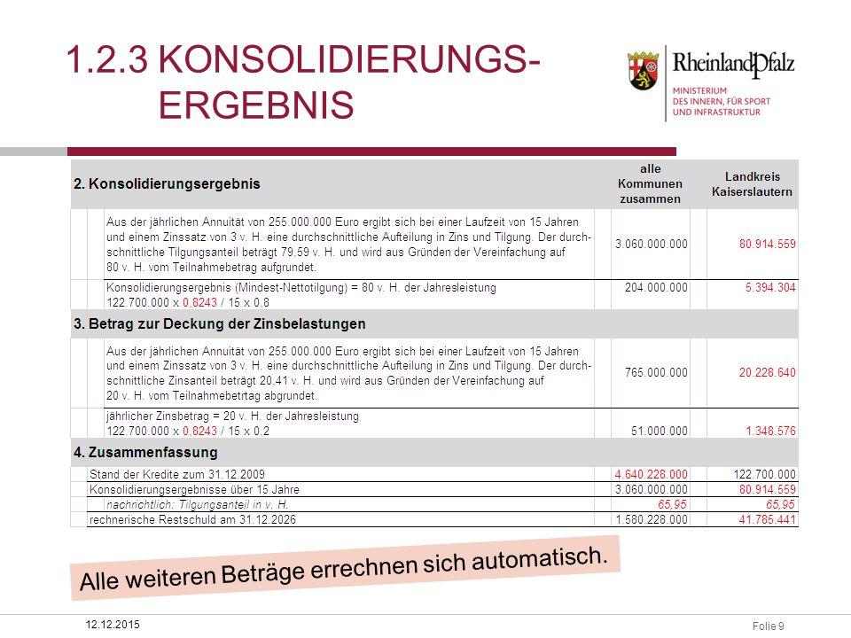 Folie 20 1.3.1 Verfahren für Beitritt und Vollzug;