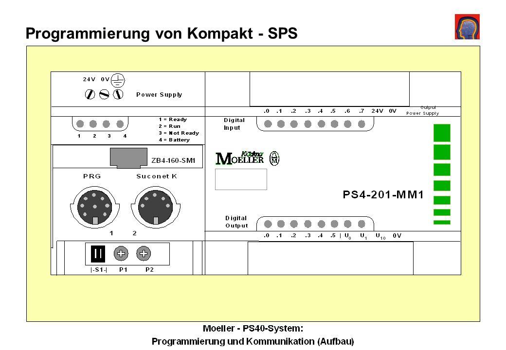 Programmierung von Kompakt - SPS