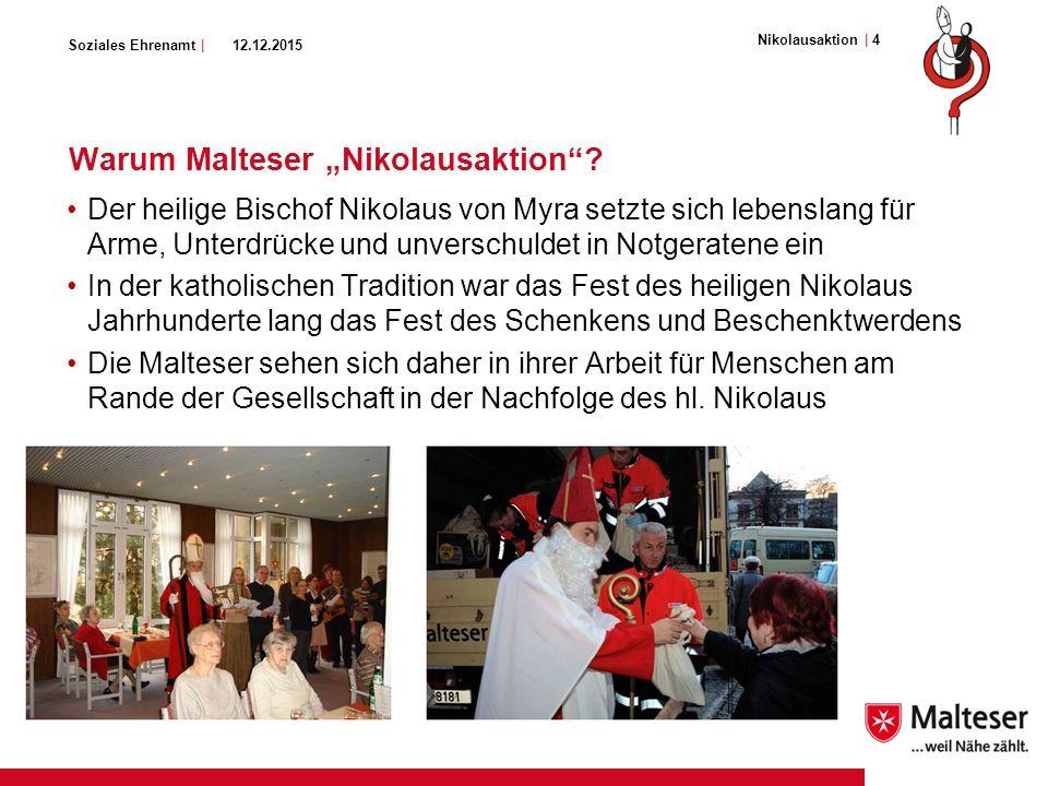 "Soziales Ehrenamt | Warum Malteser ""Nikolausaktion ."