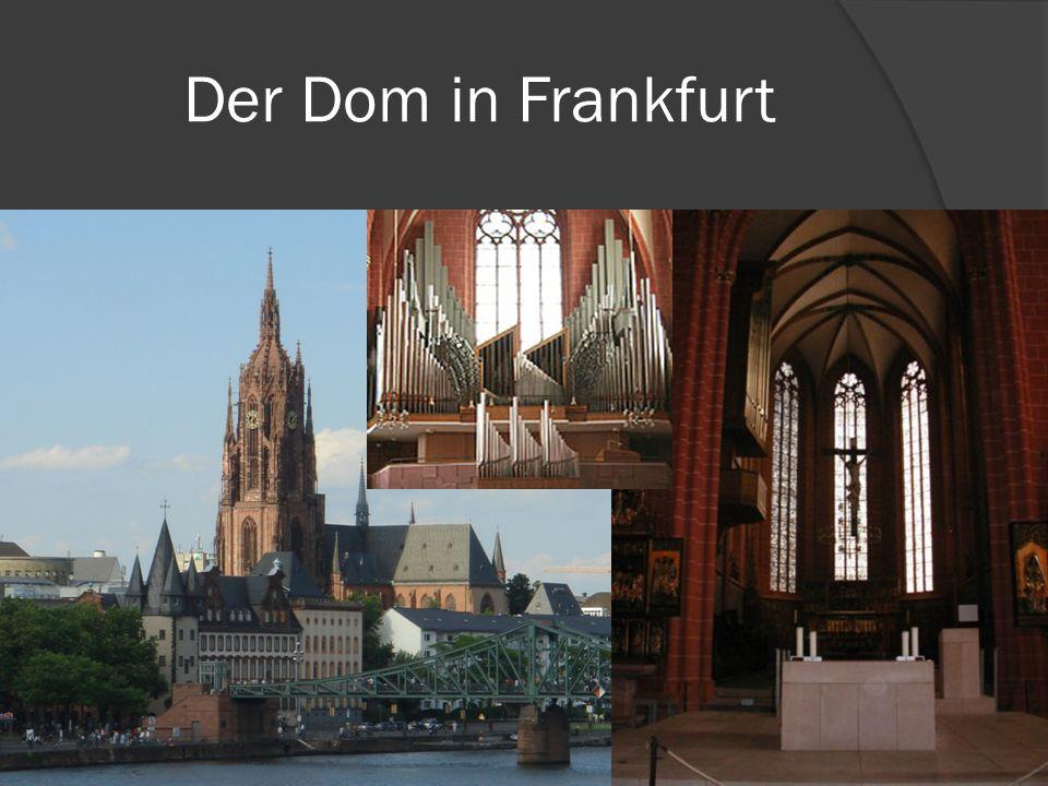Der Dom in Frankfurt