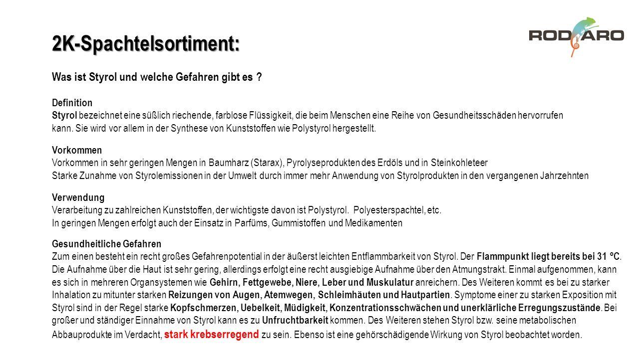 """Styrol – Neue Einstufungen nach GHS-Richtlinie: Der krebsfördernde Stoff """"Styrol wurde in der Verordnung (EU) Nr."""