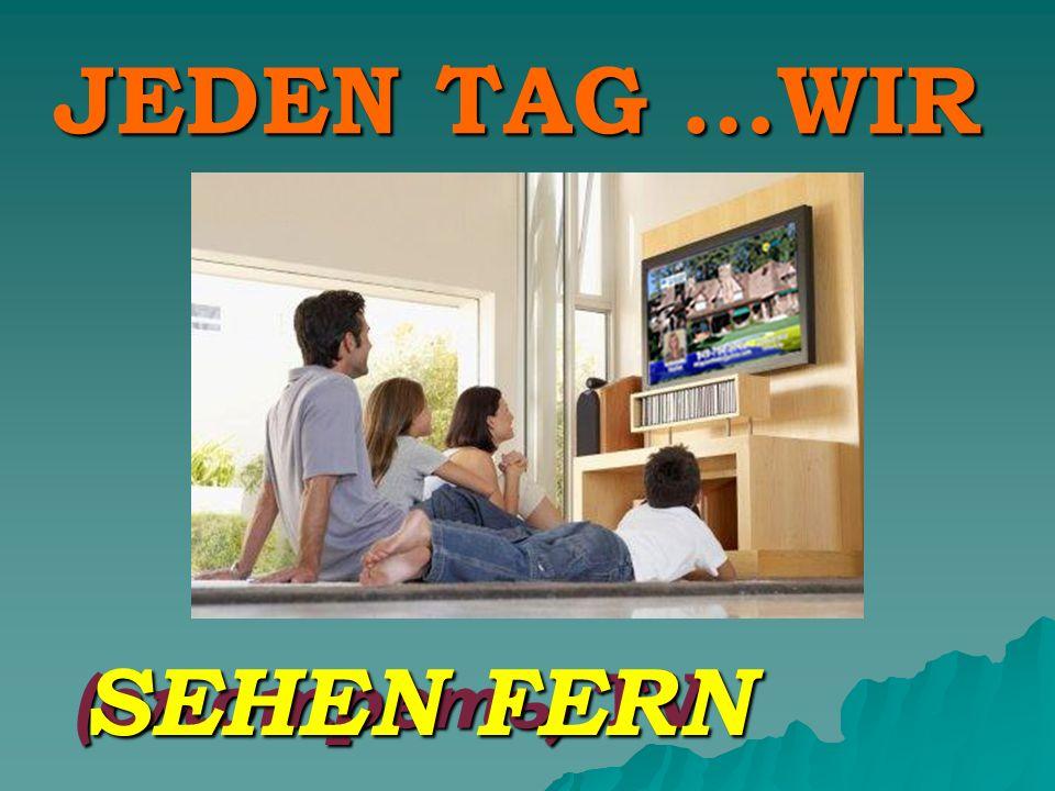 JEDEN TAG …WIR (смотреть) TV SEHEN FERN