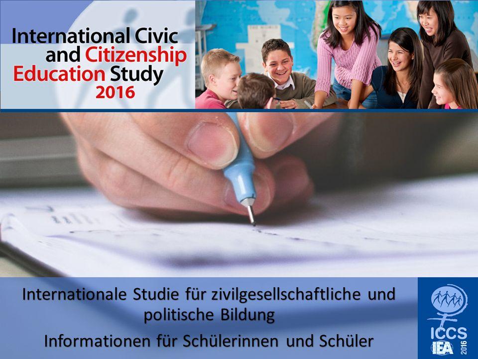 ICCS -Worum geht es.Wie werdet Ihr auf Euer Leben als Bürgerinnen und Bürger vorbereitet.
