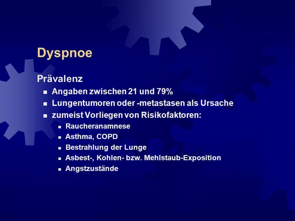 "Dyspnoe Definition der American Thoracic Society (1999): ""..."