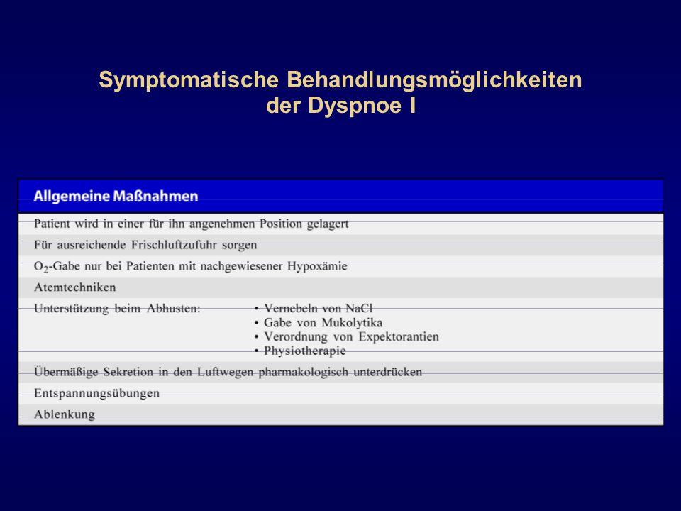 Kausale Behandlungsmöglichkeiten der Dyspnoe