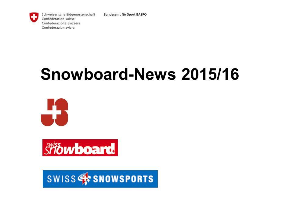 Snowboard-News 2015/16