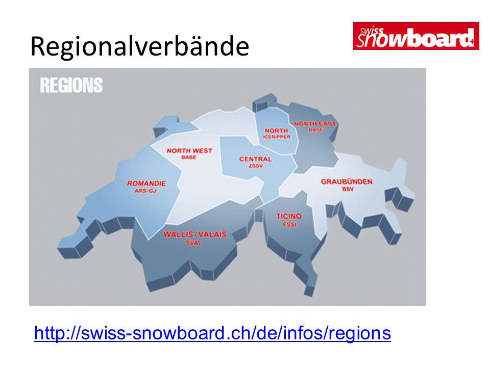 Regionalverbände http://swiss-snowboard.ch/de/infos/regions