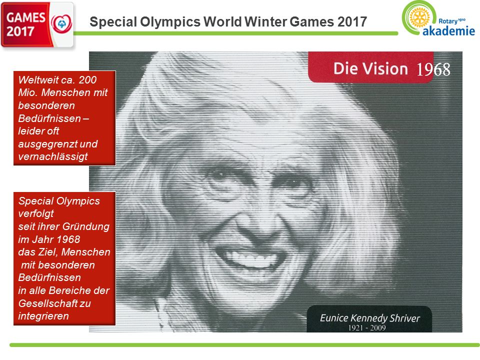 Special Olympics World Winter Games 2017 Text Weltweit ca.