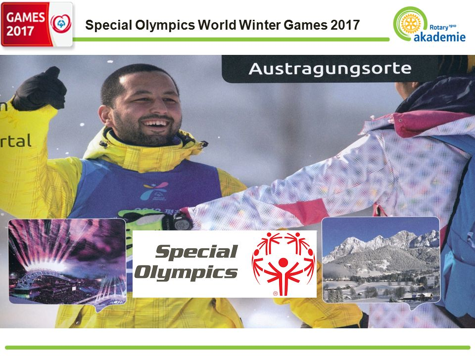Special Olympics World Winter Games 2017 Text