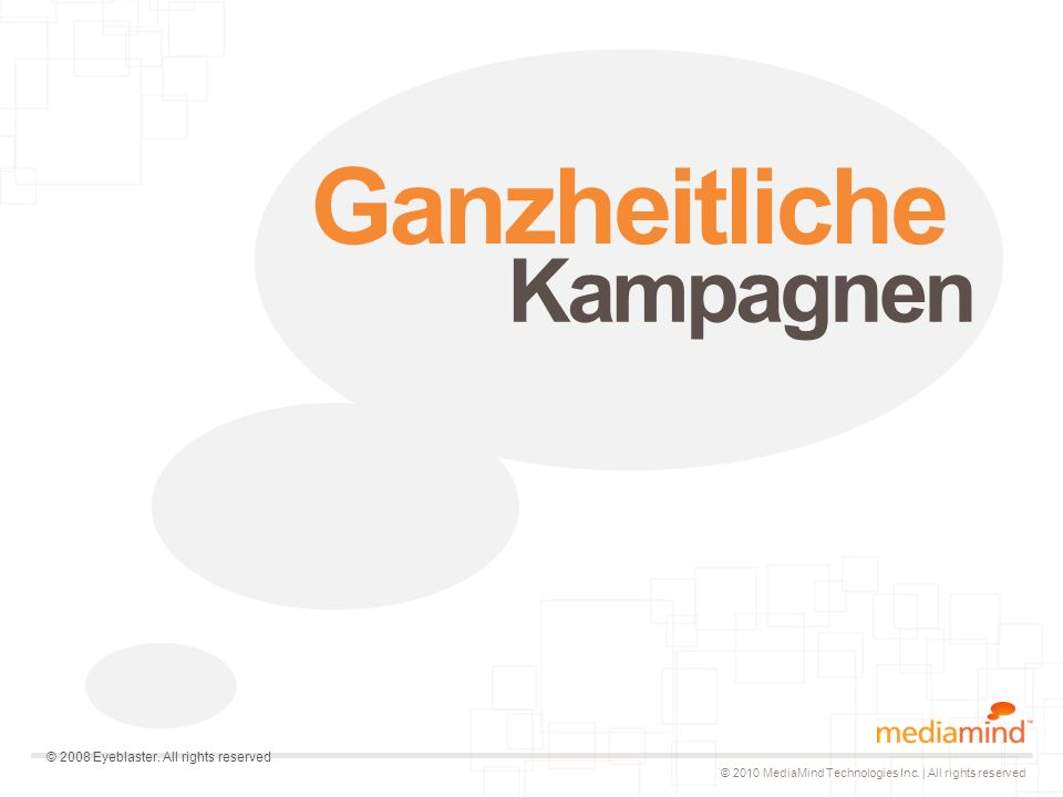 © 2010 MediaMind Technologies Inc.| All rights reserved Wie funktioniert es.