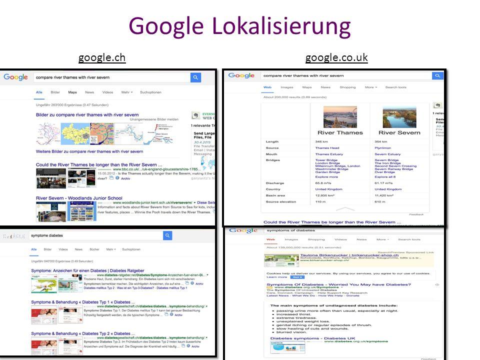 GoogleGoogle Instant Google Instant kann über die Sucheinstellungen abgeschaltet werden