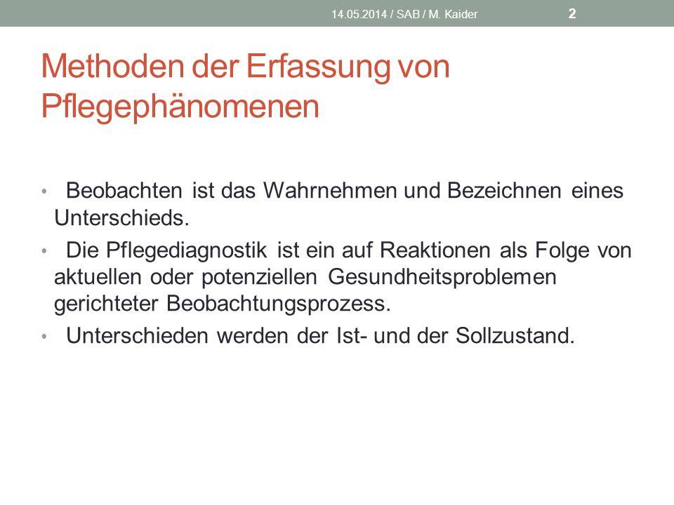 Ursachenkarte Herr H. 14.05.2014 / SAB / M. Kaider 13