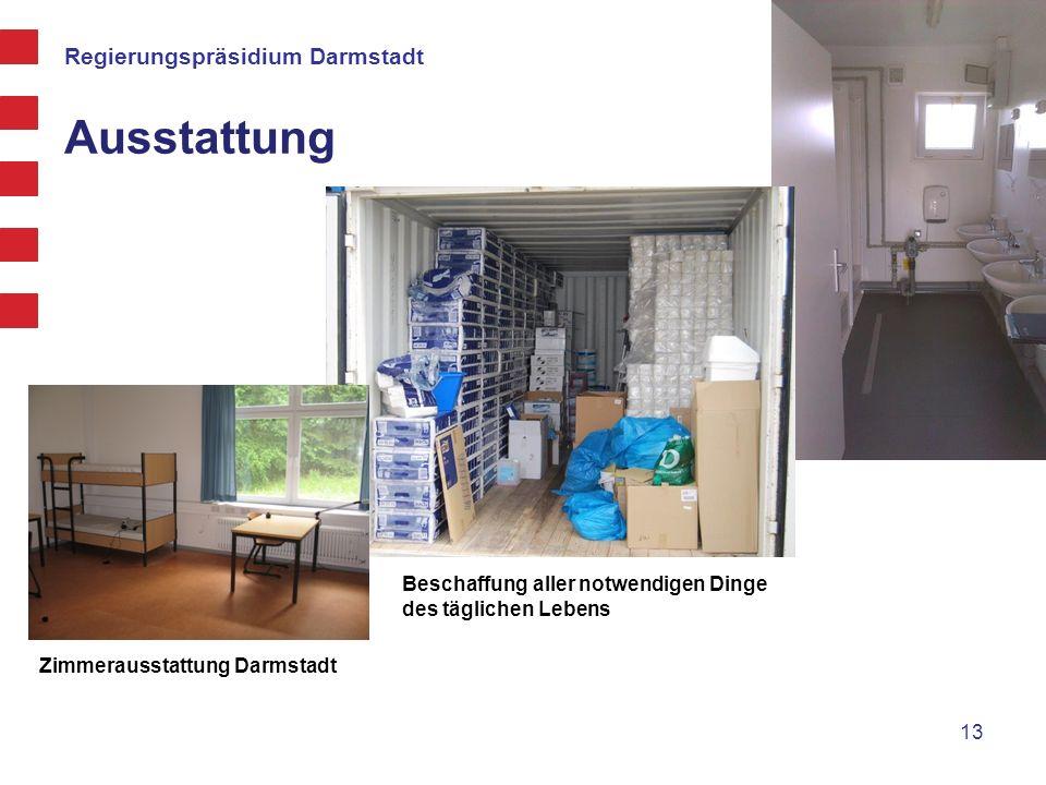 Regierungspräsidium Darmstadt Ausstattung 13 Zimmerausstattung Darmstadt Beschaffung aller notwendigen Dinge des täglichen Lebens