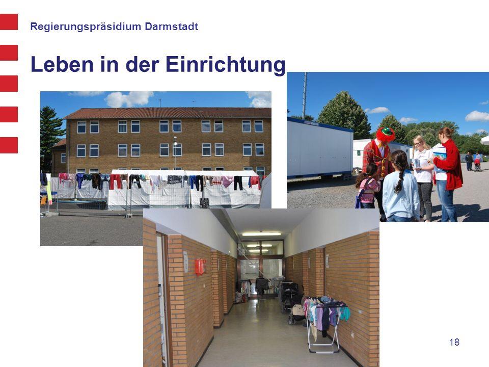 Regierungspräsidium Darmstadt Leben in der Einrichtung 18