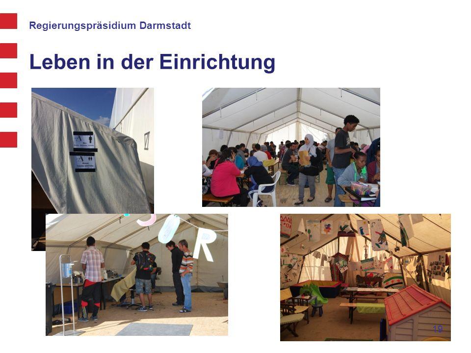 Regierungspräsidium Darmstadt Leben in der Einrichtung 19