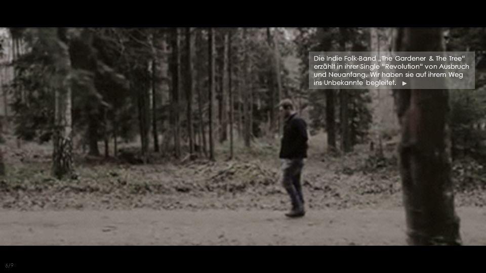 """Die Indie Folk-Band """"The Gardener & The Tree erzählt in ihrer Single Revolution von Ausbruch und Neuanfang."""