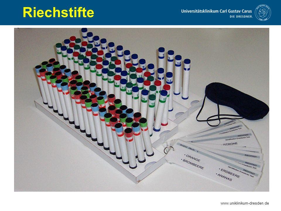 www.uniklinikum-dresden.de Riechstifte