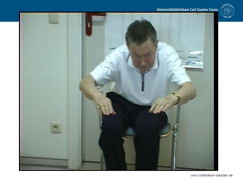 www.uniklinikum-dresden.de Wann sollten wir mit der Behandlung der Parkinson Krankheit beginnen.