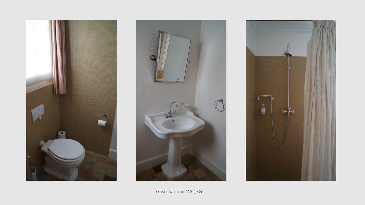 Gästebad mit WC, EG