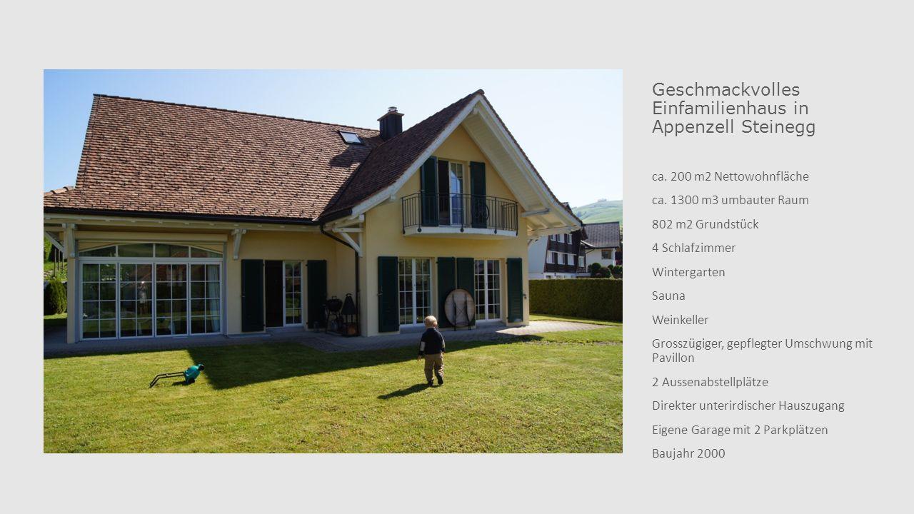 Geschmackvolles Einfamilienhaus in Appenzell Steinegg ca.