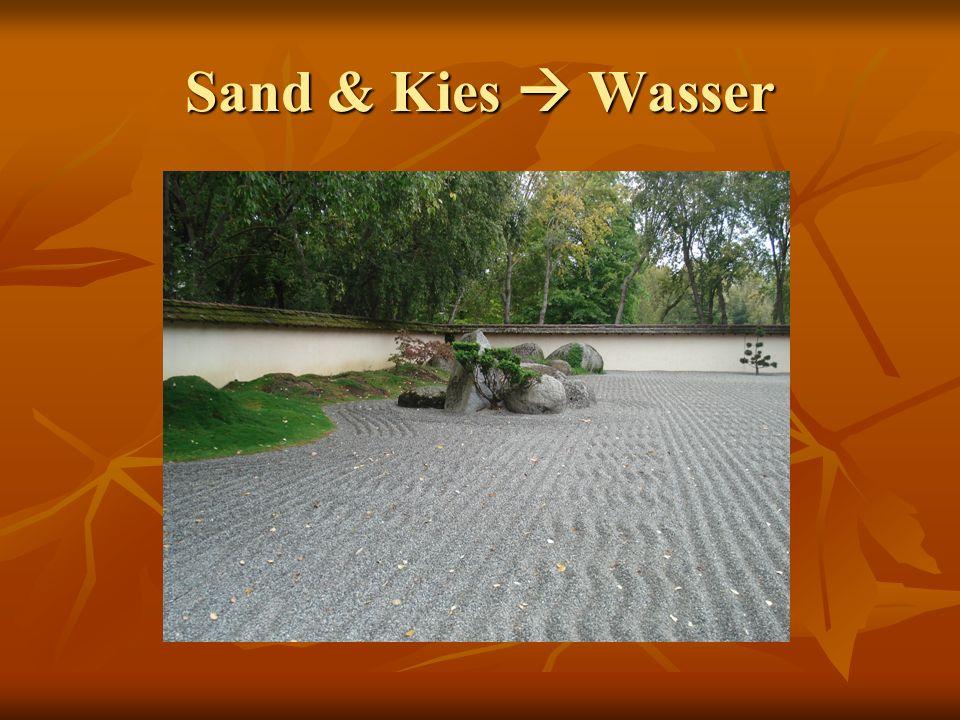 Sand & Kies  Wasser