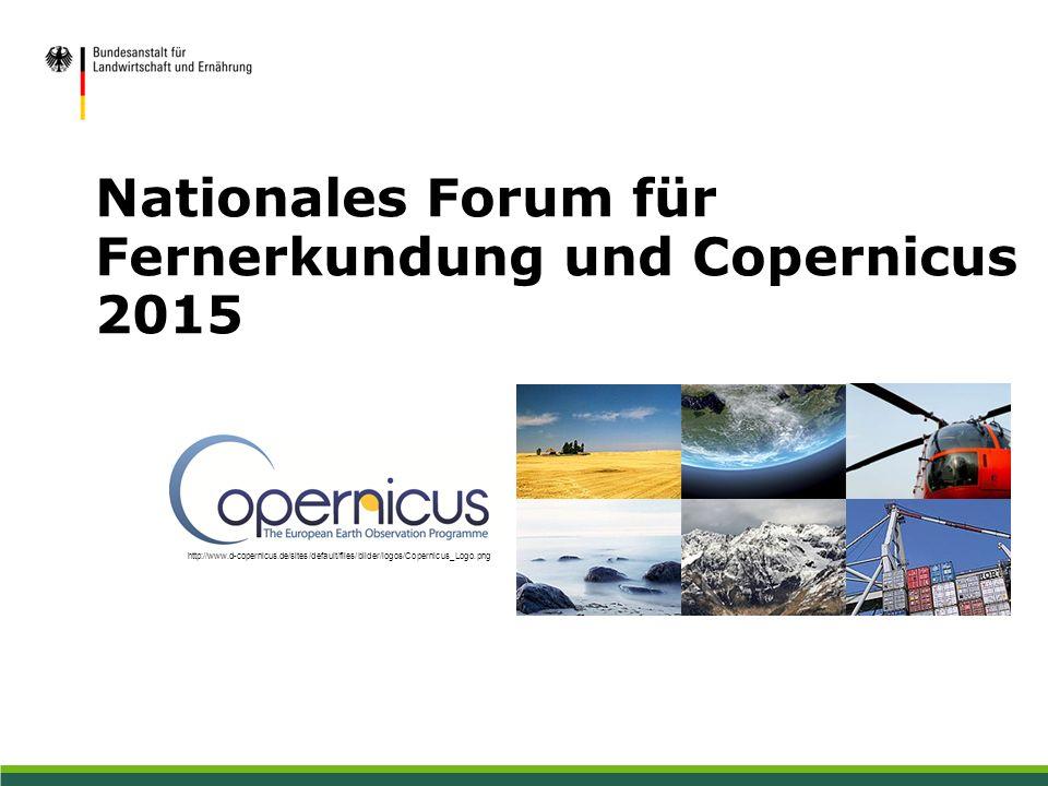 Nationales Forum für Fernerkundung und Copernicus 2015 http://www.d-copernicus.de/sites/default/files/bilder/logos/Copernicus_Logo.png