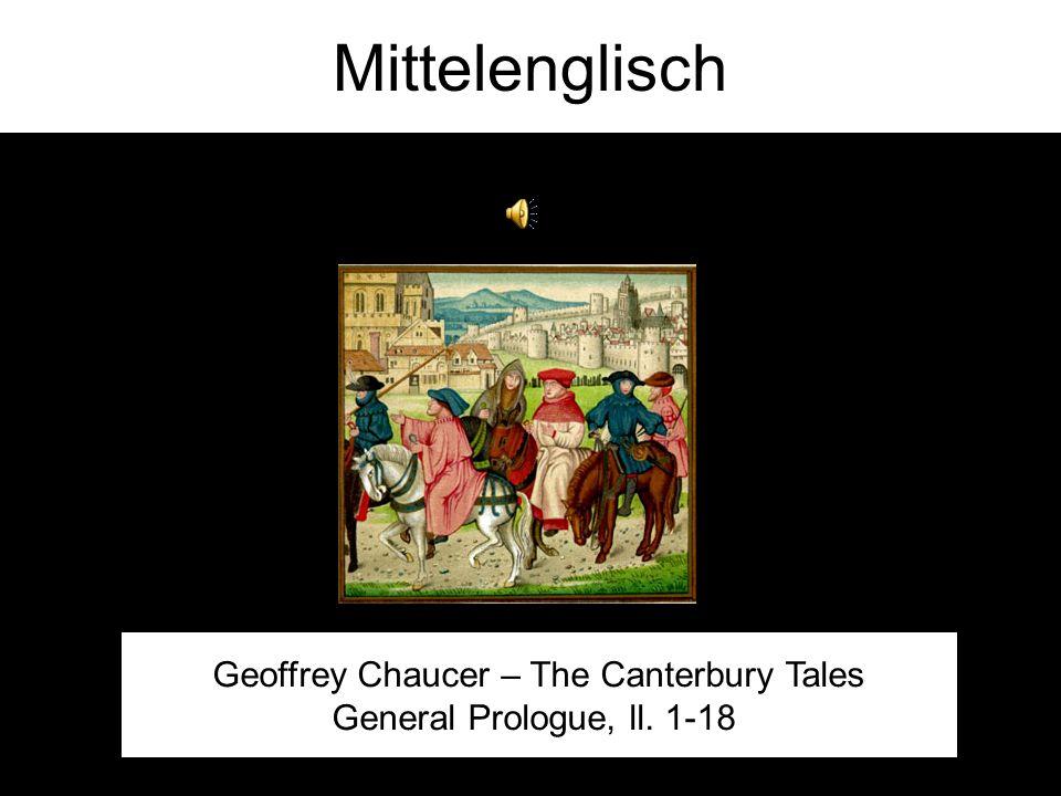 Ah oui, le français. C'est très elegant! Chronik von Robert of Gloucester, 13. Jahrhundert