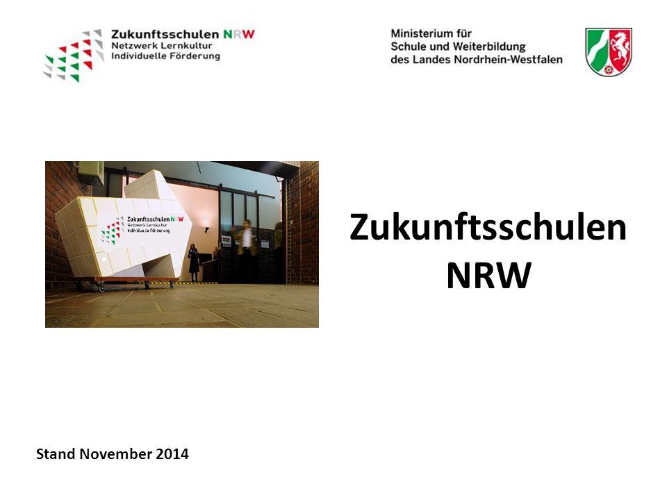 Zukunftsschulen NRW Stand November 2014