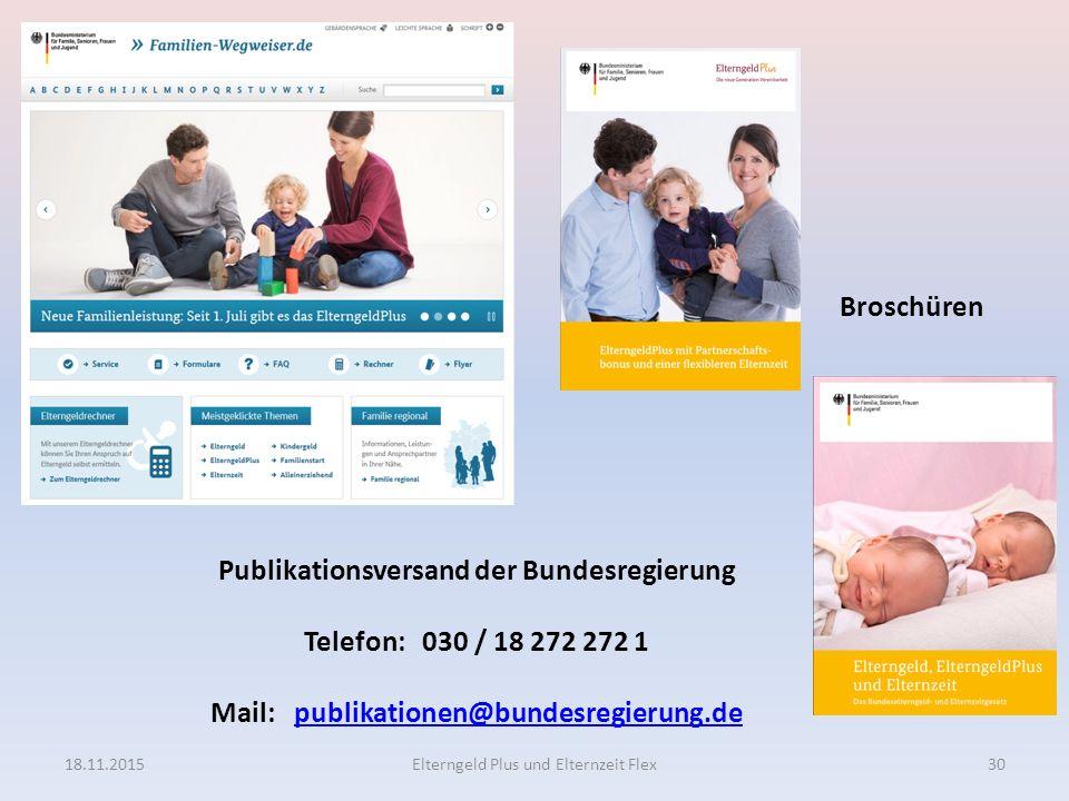 Publikationsversand der Bundesregierung Telefon: 030 / 18 272 272 1 Mail: publikationen@bundesregierung.depublikationen@bundesregierung.de Broschüren
