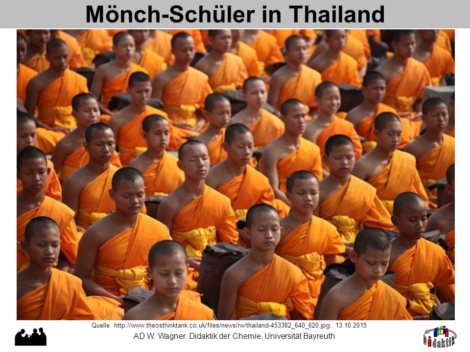 Mönch-Schüler in Thailand Quelle: http://www.theosthinktank.co.uk/files/news/rw/thailand-453382_640_620.jpg, 13.10.2015 AD W.