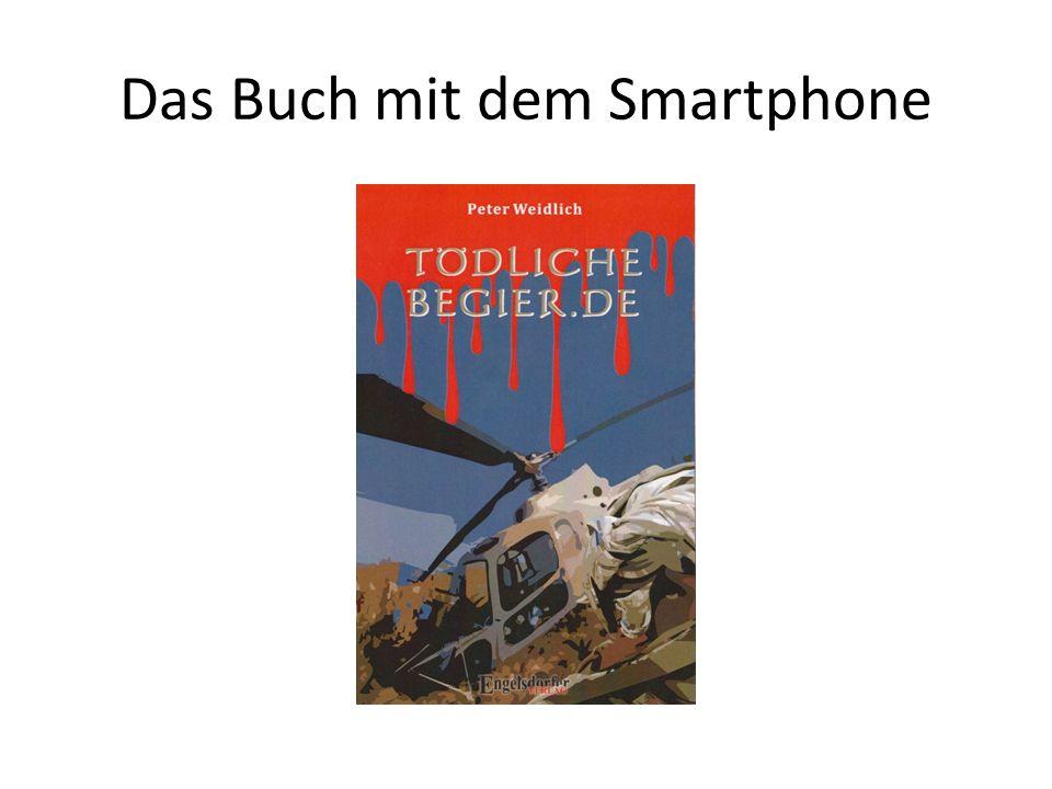 Das Buch mit dem Smartphone