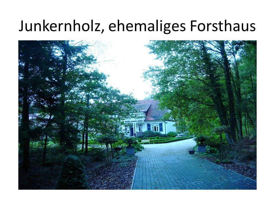 Junkernholz, ehemaliges Forsthaus