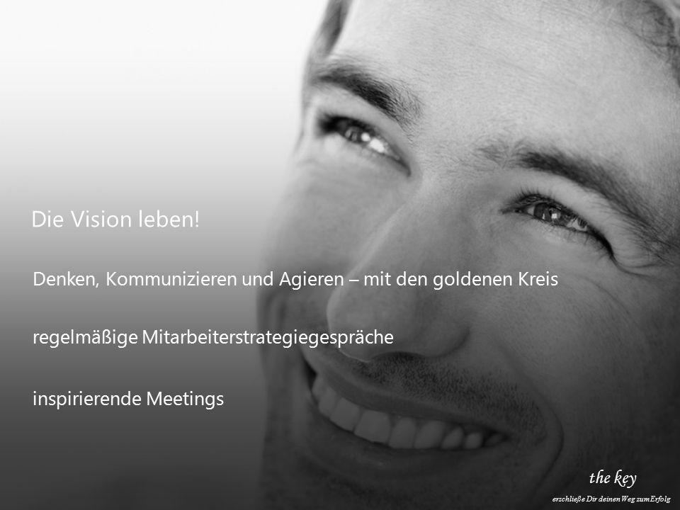 the key erschließe Dir deinen Weg zum Erfolg Die Vision leben.