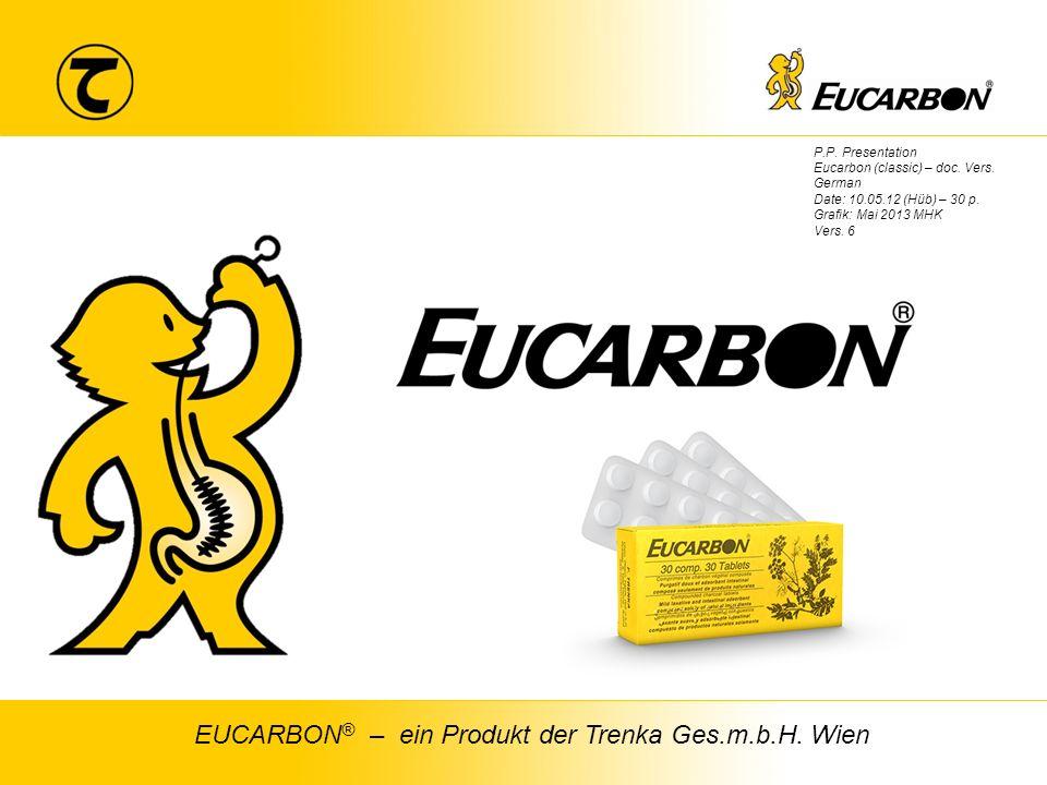 1 TRENKA Chem. pharm. Fabrik Ges.m.b.H EUCARBON ® – ein Produkt der Trenka Ges.m.b.H.