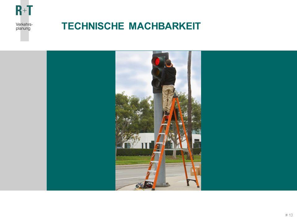 # 13 TECHNISCHE MACHBARKEIT