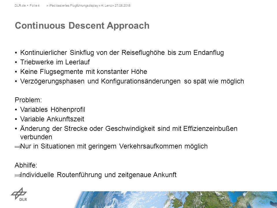 > iPad basiertes Flugführungsdisplay > H.