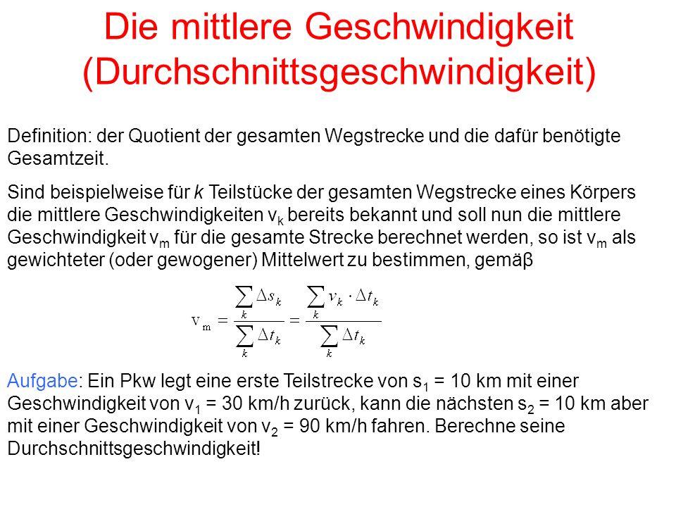 Hausaufgabe (für Fortgeschrittene) 7.Das Fermat-Prinzip der kürzesten Zeit.
