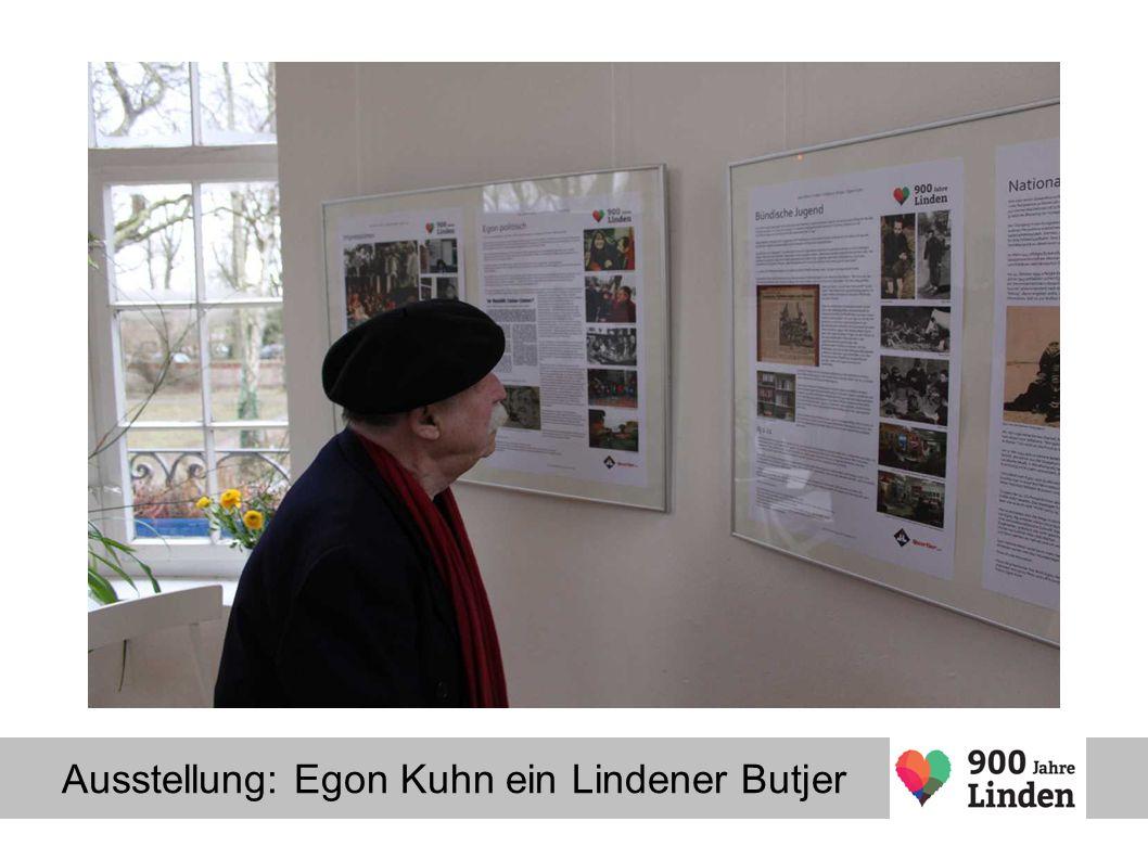 Ausstellung: Egon Kuhn ein Lindener Butjer